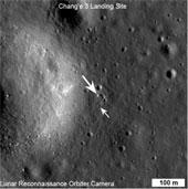 NASA chụp hình thiết bị tự hành Thỏ Ngọc trên mặt trăng