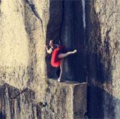 Chiêm ngưỡng những bức ảnh nghệ thuật trên vách núi cao 100m