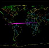 Thiên thạch đầu tiên lao xuống Trái đất trong năm