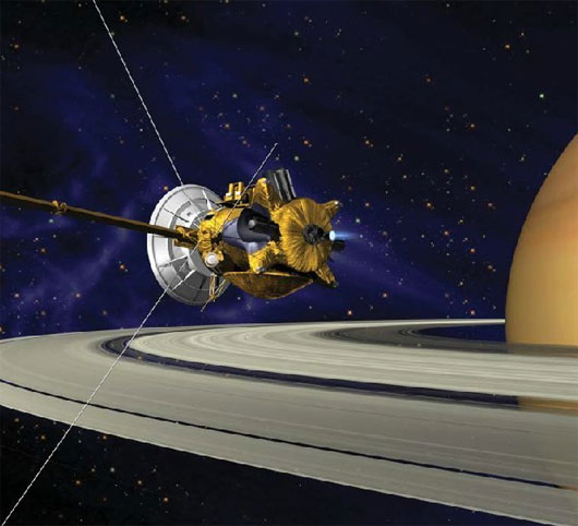 Xác định tuổi của vành đai sao Thổ