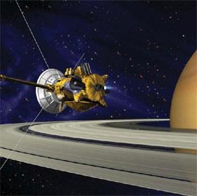 Xác định tuổi thật của vành đai sao Thổ