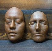 """Tái tạo """"mặt nạ xác chết"""" của người La Mã xưa"""