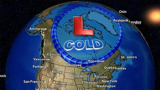 """Lý giải vì sao nước Mỹ hứng chịu """"mùa đông thảm họa"""" -50 độ C"""