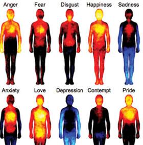 Biểu đồ màu giải mã cảm xúc