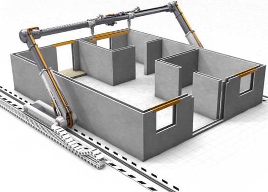 Máy in 3D xây nhà