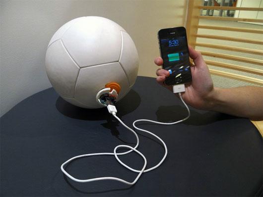 Thu năng lượng từ bóng đá