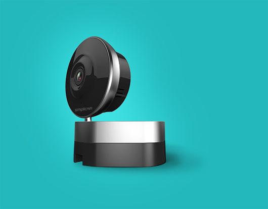 Simplicam - camera quan sát nhà cửa, có nhận dạng khuôn mặt