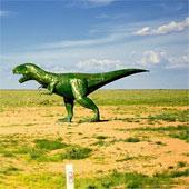 Cận cảnh công viên khủng long lớn nhất thế giới