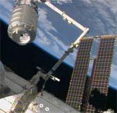 Tàu chở hàng Cygnus lắp ghép thành công với trạm ISS