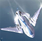 Siêu máy bay tương lai có cánh tự hàn gắn