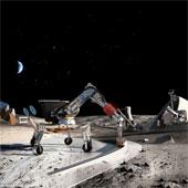 NASA đầu tư công nghệ xây nhà trên mặt trăng