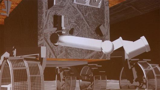 """Robot tự hành Thỏ Ngọc """"nếm"""" đất Mặt trăng"""