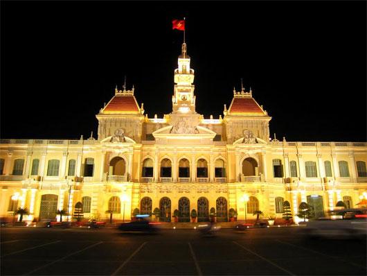 10 công trình kiến trúc nổi tiếng Sài Gòn