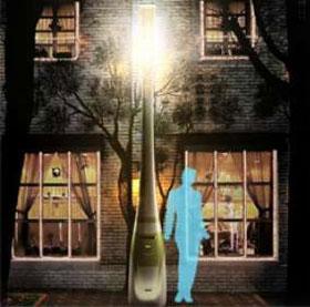 """Những chiếc đèn đường """"biết nói"""""""
