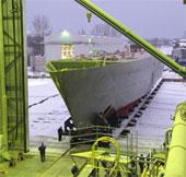 Nga nhận tàu làm bằng sợi thủy tinh lớn nhất thế giới