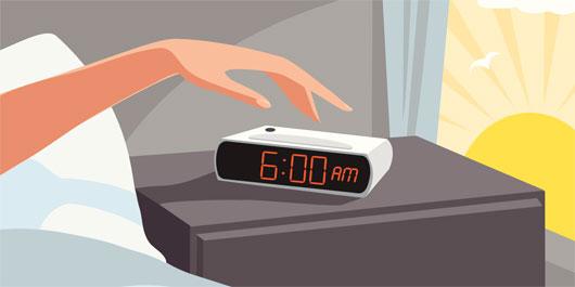 Vì sao chúng ta tỉnh dậy trước chuông báo thức?