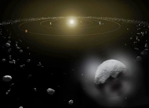 Phát hiện hơi nước tỏa ra từ hành tinh lùn Ceres