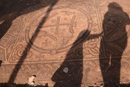 Israel phát hiện nhà thờ lớn từ thời La Mã cổ đại