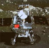 Xe tự hành mặt trăng của Trung Quốc gặp sự cố