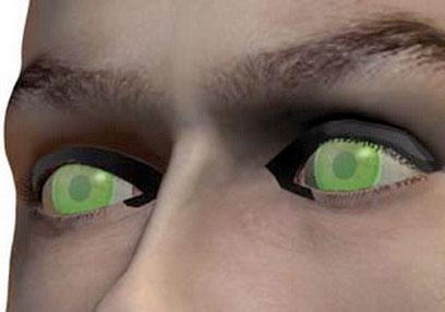 Mỹ phát triển kính áp tròng có khả năng nhìn đêm