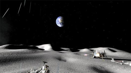 NASA khuyến khích tư nhân khai thác Mặt trăng
