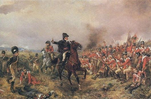 Liên quân Anh, Áo, Nga và Phổ quyết định tấn công hoàng đế Pháp tại làng Waterloo