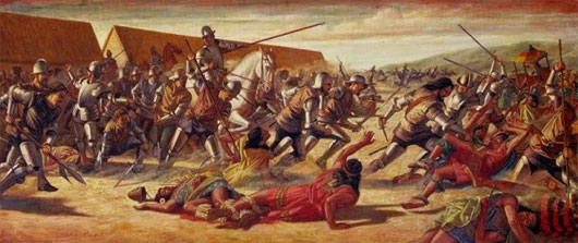 Cuộc chiến ở Cajamarca