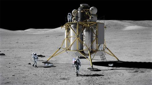 Mỹ tiết lộ kế hoạch tái chinh phục Mặt Trăng