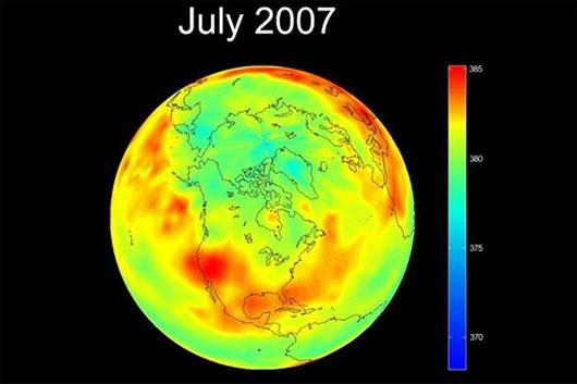 Sự thay đổi khủng khiếp của Trái đất do biến đổi khí hậu
