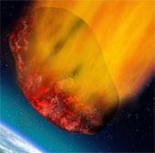 Một tiểu hành tinh vừa sượt qua Trái đất