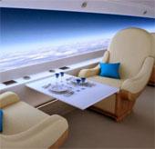Máy bay siêu thanh màn hình khổng lồ