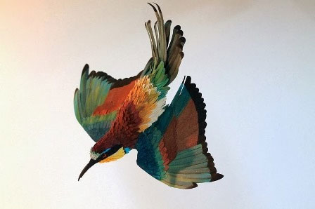 Những chú chim giấy đẹp như thật