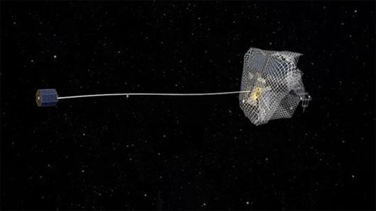 Châu Âu nghiên cứu dự án dọn rác vũ trụ