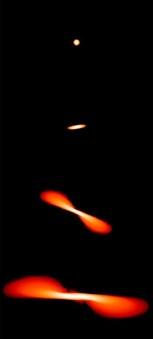 """Mô phỏng quá trình lỗ đen vũ trụ """"ăn thịt"""" ngôi sao"""