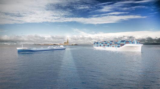 Rolls-Royce đang phát triển tàu chở hàng không người lái