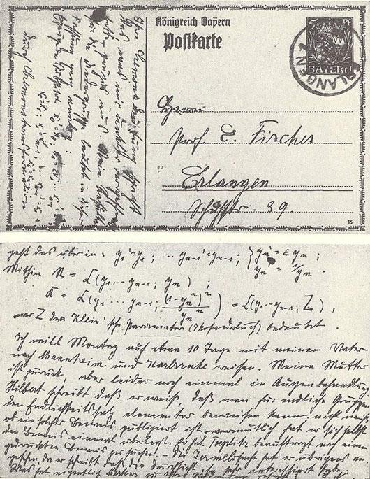 Emmy Noether là người mẹ đỡ đầu cho nền toán học hiện đại