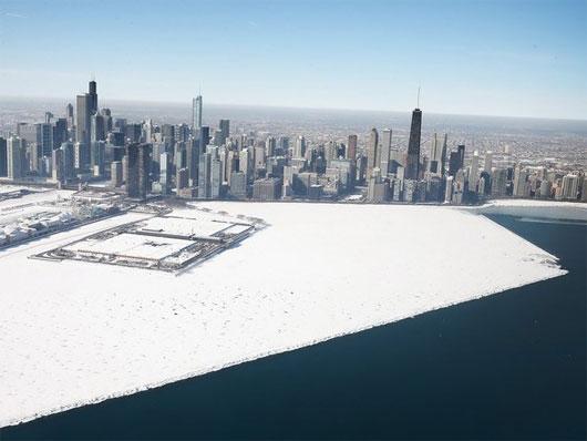 Miền Trung và Đông Bắc Mỹ lại chìm trong băng tuyết