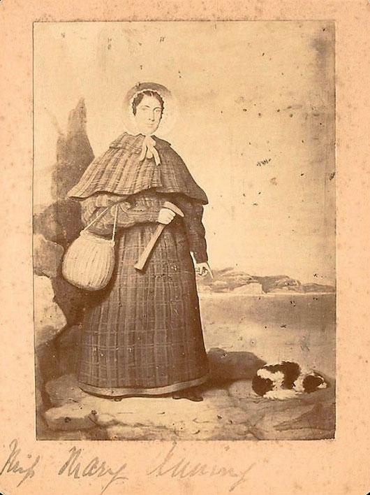Mary Anning - nhà cổ sinh vật học