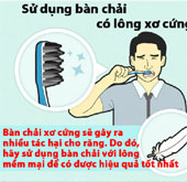 Điều cần tránh khi đánh răng