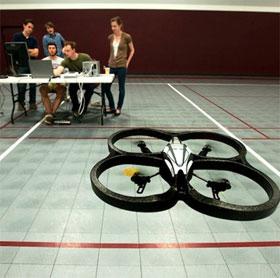Điều khiển máy bay quadcopter bằng suy nghĩ