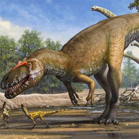 Loài khủng long ăn thịt lớn nhất châu Âu