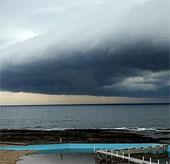 Mây bão bao trùm Sydney