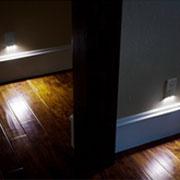 Nắp ổ cắm điện tích hợp đèn cảm biến ánh sáng