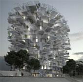 Tòa nhà hình cây tuyệt đẹp dành giải kiến trúc của Pháp