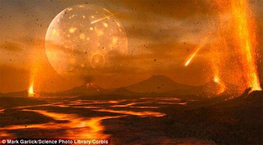 Sự sống trên Trái đất bắt đầu từ núi lửa