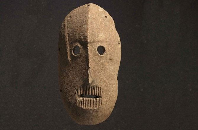 Những chiếc mặt nạ đá cổ nhất thế giới