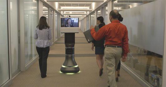 Robot thông minh thay người... đi họp
