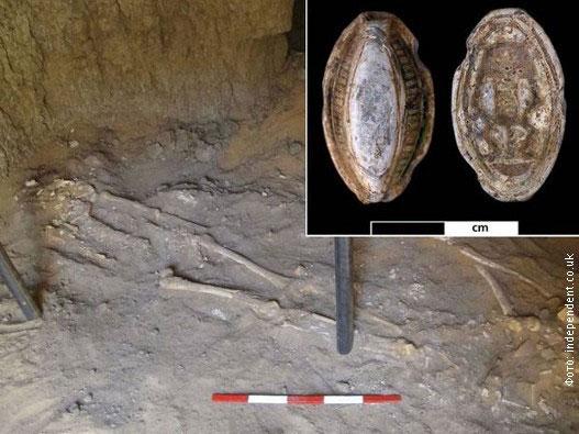 Hài cốt 3.200 năm tuổi bị ung thư