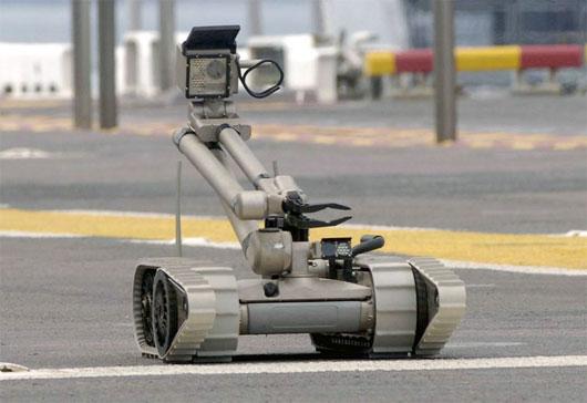 Brazil đặt mua 30 robot bảo vệ World Cup 2014