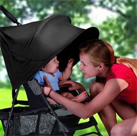 Tác hại lâu dài khi trẻ ngồi nhiều trên xe đẩy